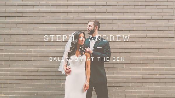 STEPH + ANDREW ////// BALLROOM AT THE BEN