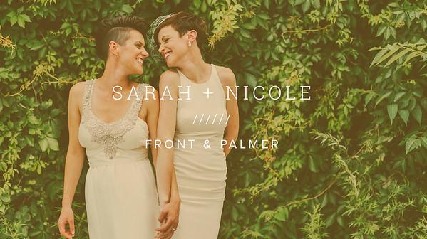 SARAH + NICOLE ////// FRONT & PALMER