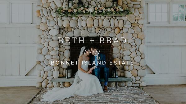BETH + BRAD ////// BONNET ISLAND ESTATE