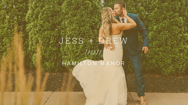 JESS + DREW ////// HAMILTON MANOR