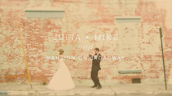 JULIA + MIKE ////// MANSION ON BROADWAY