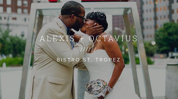 ALEXIS + OCTAVIUS ////// BISTRO ST. TROPEZ