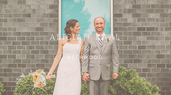 ALICIA + KARL ////// BETHWOOD
