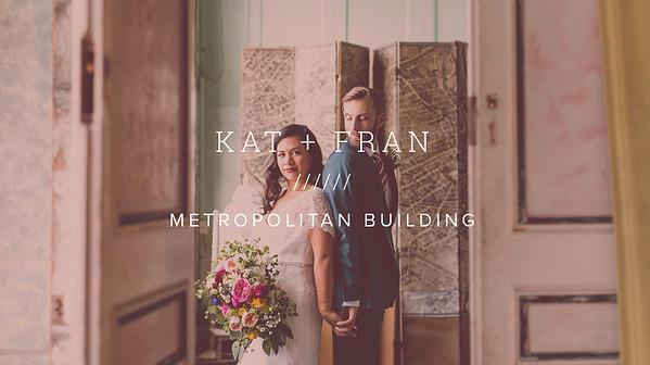 KAT + FRAN ////// METROPOLITAN BUILDING