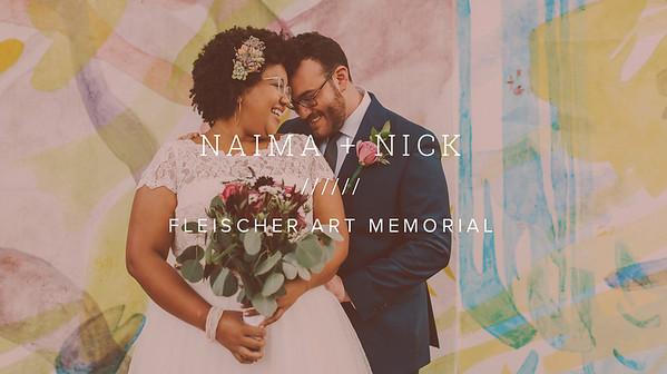 NAIMA + NICK ////// FLEISHER ART MEMORIAL
