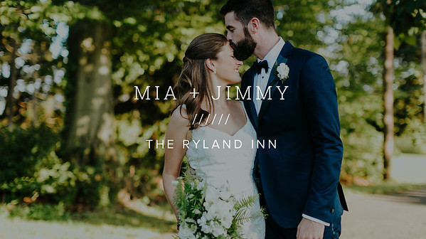 MIA + JIMMY ////// THE RYLAND INN