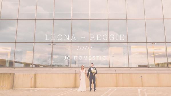 LEONA + REGGIE ////// JG DOMESTIC