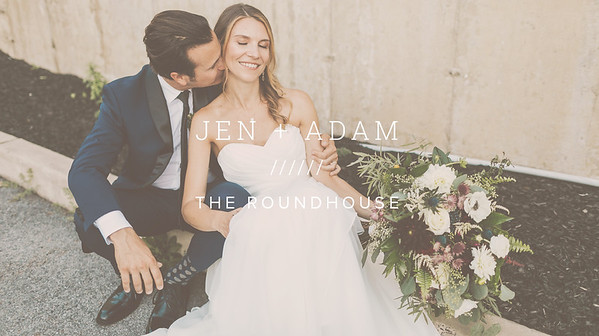 JEN + ADAM ////// THE ROUNDHOUSE