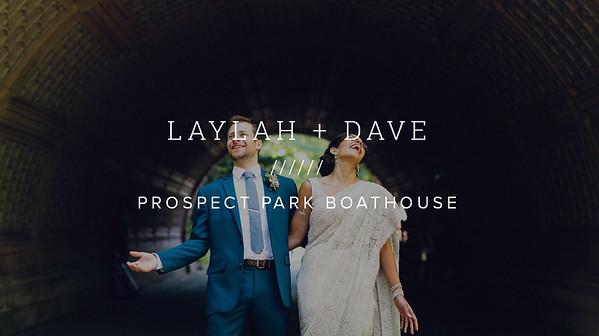 LAYLAH + DAVE ////// PROSPECT PARK BOATHOUSE
