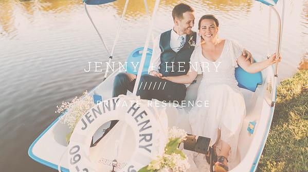 JENNY + HENRY ////// PRIVATE RESIDENCE