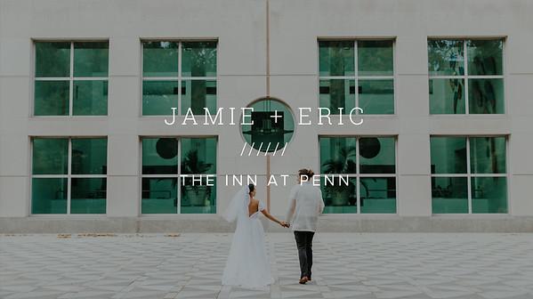 JAMIE + ERIC ////// THE INN AT PENN