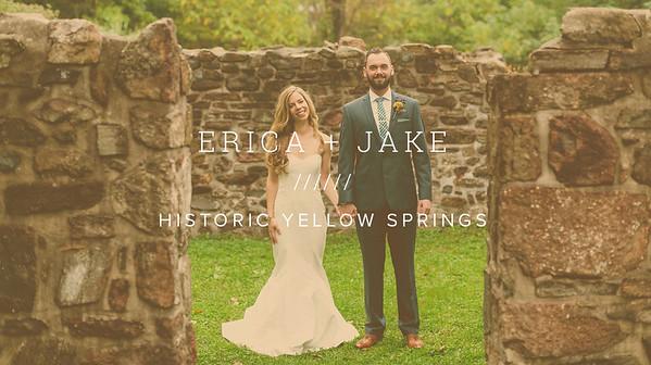 ERICA + JAKE ////// HISTORIC YELLOW SPRINGS