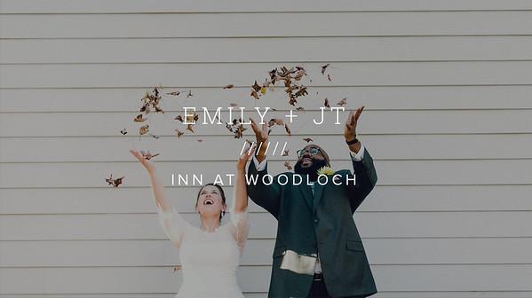 EMILY + JT ////// INN AT WOODLOCH