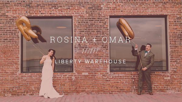 ROSINA + OMAR ////// LIBERTY WAREHOUSE