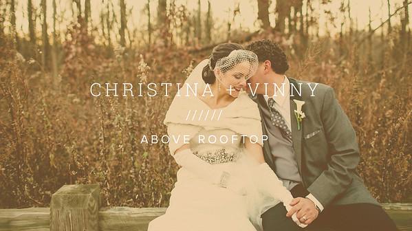 CHRISTINA + VINNY ////// ABOVE ROOFTOP