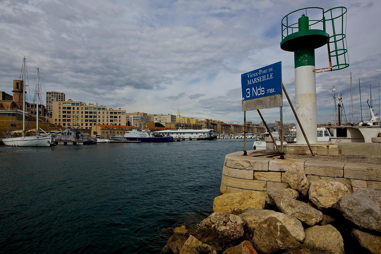 Vieux-Port Entrance