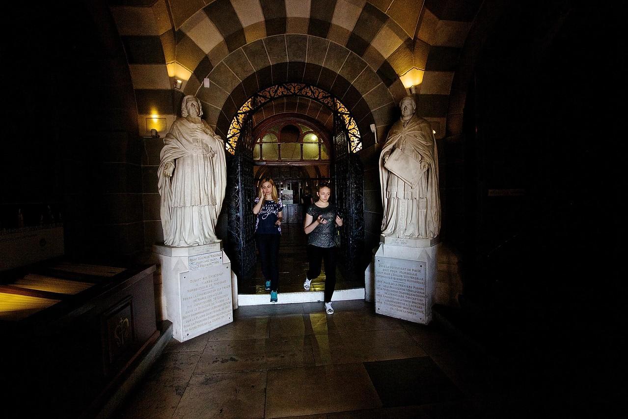 Visitors. Basilique Notre-Dame de la Garde
