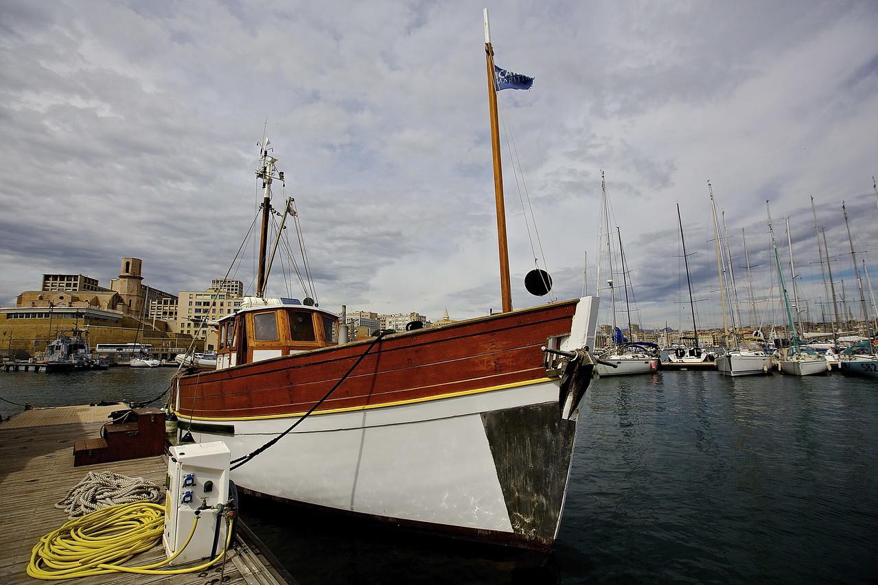 Boat. Vieux-Port