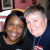 LaNoral James, SEIU Organizer and friend with Marvel.  She got me into a lot of political opportunities.