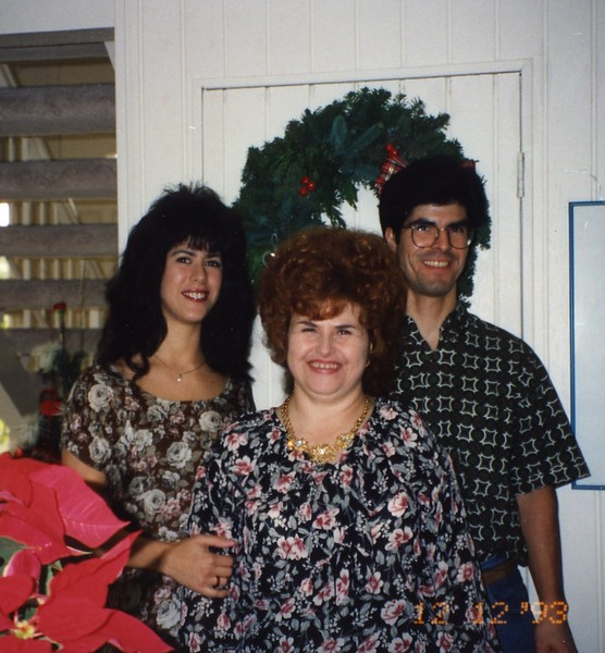 Molina Family Family Christmas Party 1993