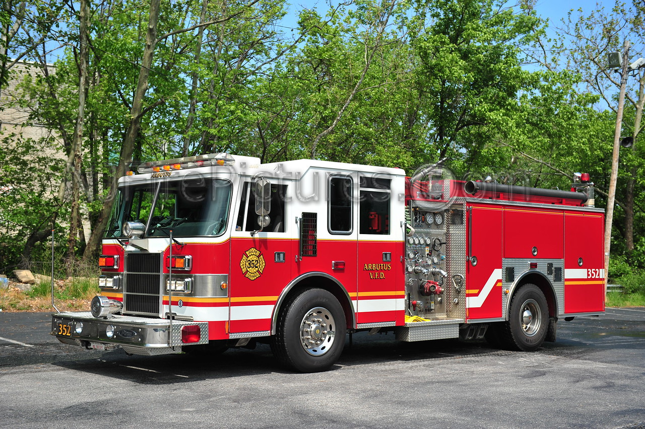 ARBUTUS, MD ENGINE 352 - 1997 PIERCE DASH 1250/750