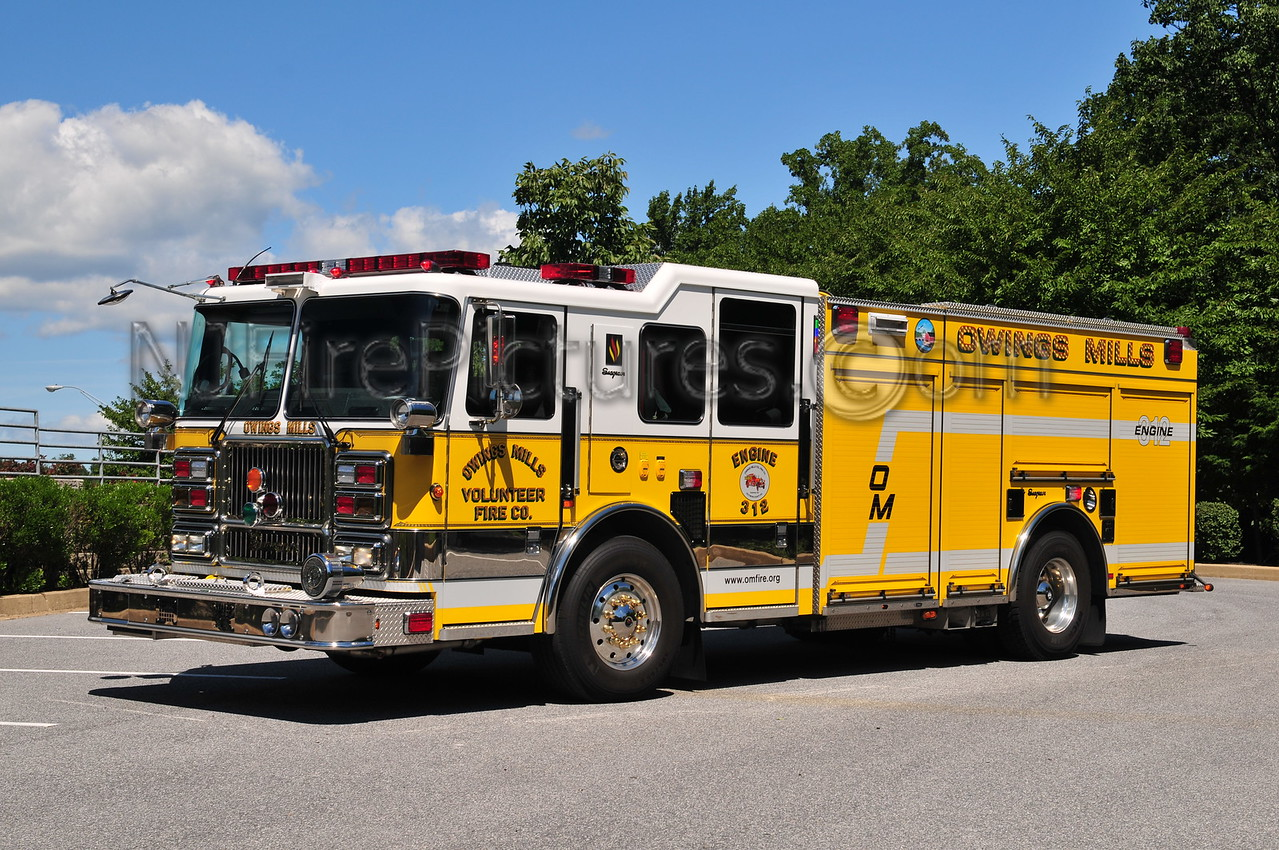 OWINGS MILLS ENGINE 312 - 2009 SEAGRAVE 2250/500