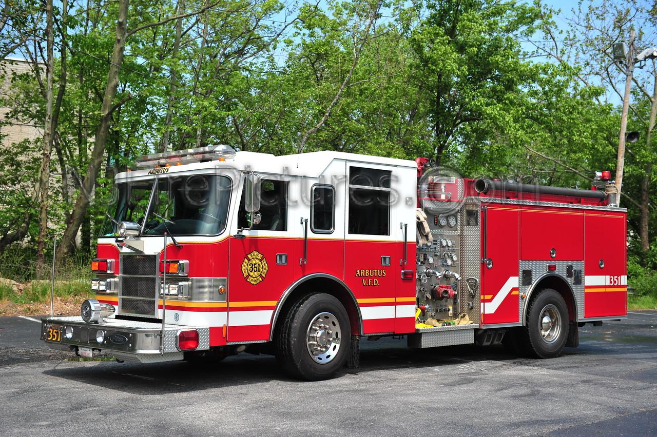 ARBUTUS, MD ENGINE 351 - 1999 PIERCE DASH 1250/750