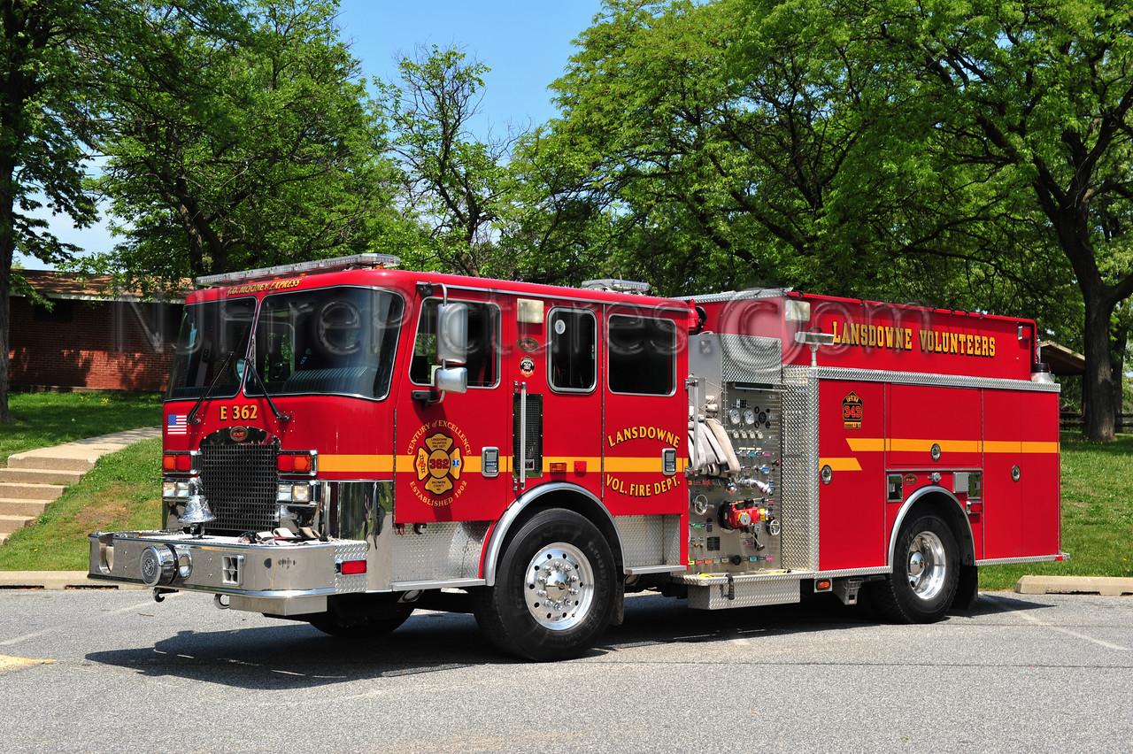 LANSDOWNE, MD ENGINE 362 - 2006 KME 1500/1000