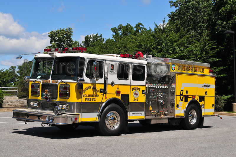 OWINGS MILLS ENGINE 311 - 1994 SEAGRAVE 2000/500