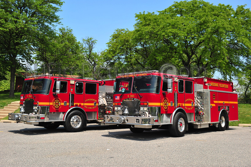 LANSDOWNE, MD ENGINE 361 AND 362 - BOTH 2006 KME 1500/1000 PUMPERS.
