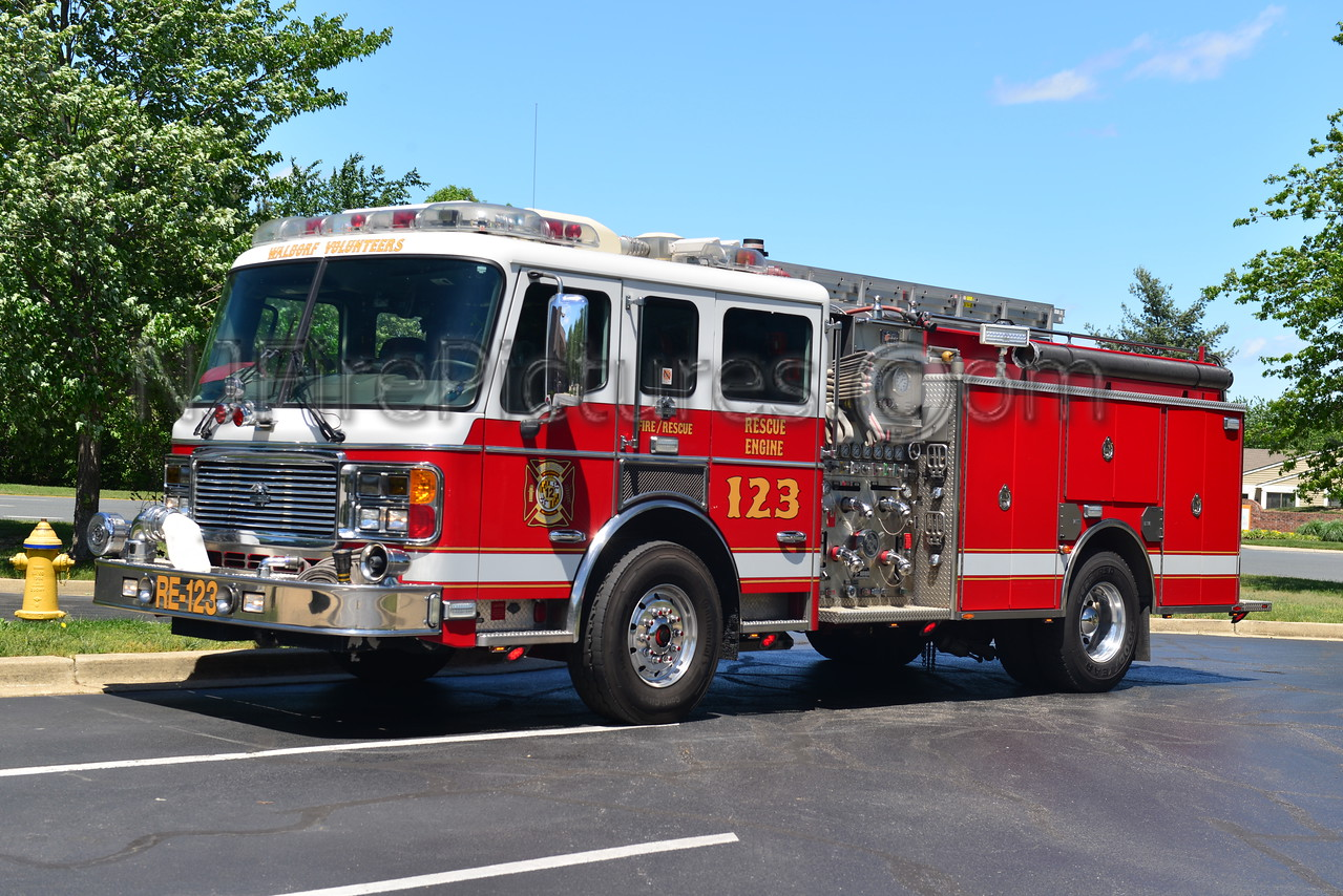 WALDORF, MD RESCUE ENGINE 123