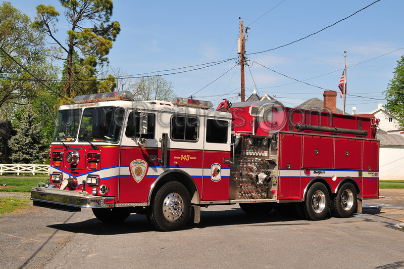 FREDERICK COUNTY, MD  ENGINE-TANKER 143