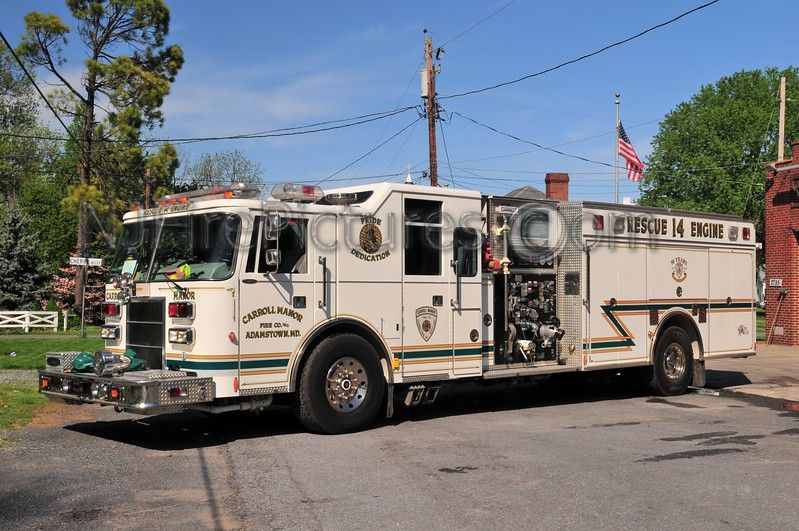ADAMSTOWN, MD (CARROLL MANOR FC) RESCUE-ENGINE 14