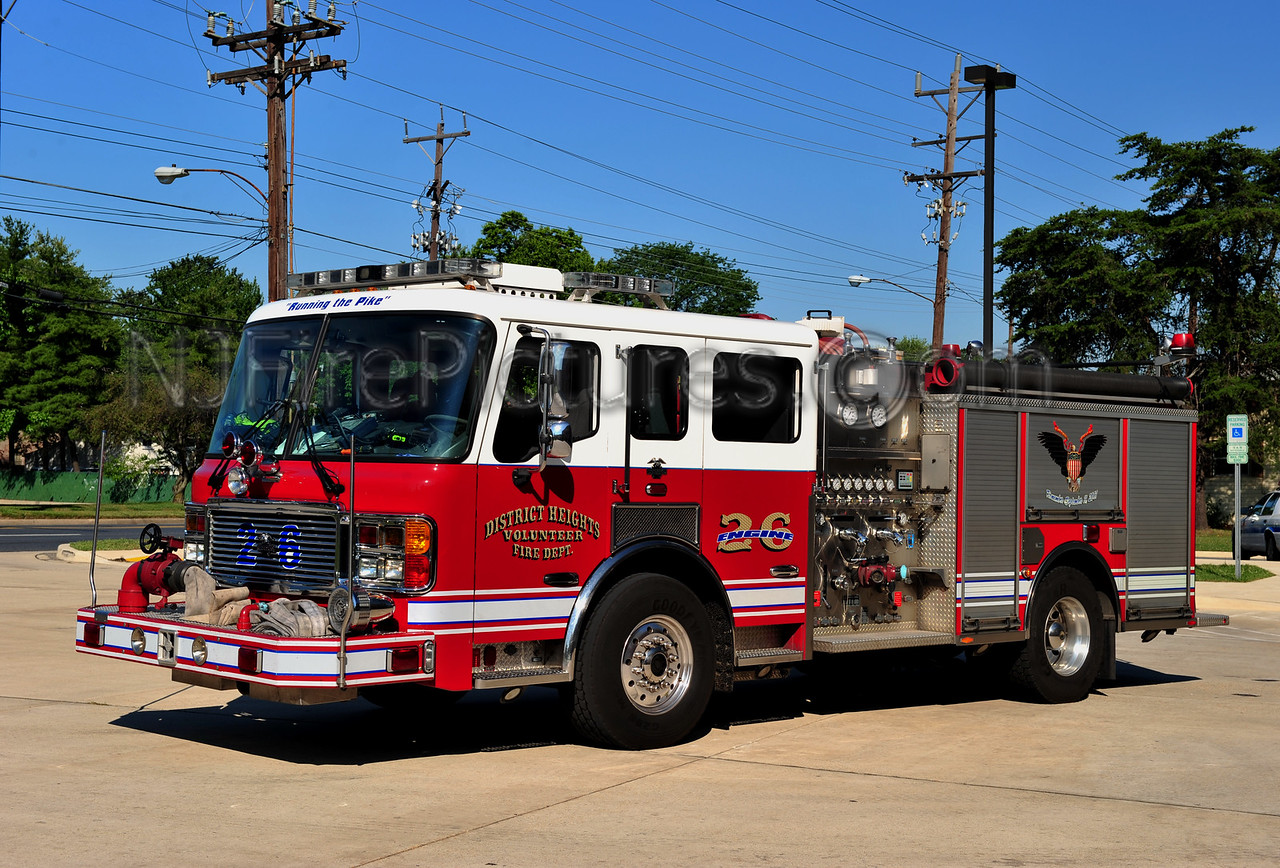 DISTRICT HEIGHTS, MD ENGINE 26