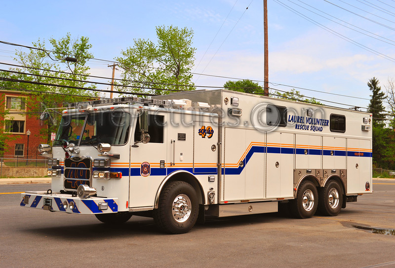 LAUREL, MD RESCUE SQUAD 49