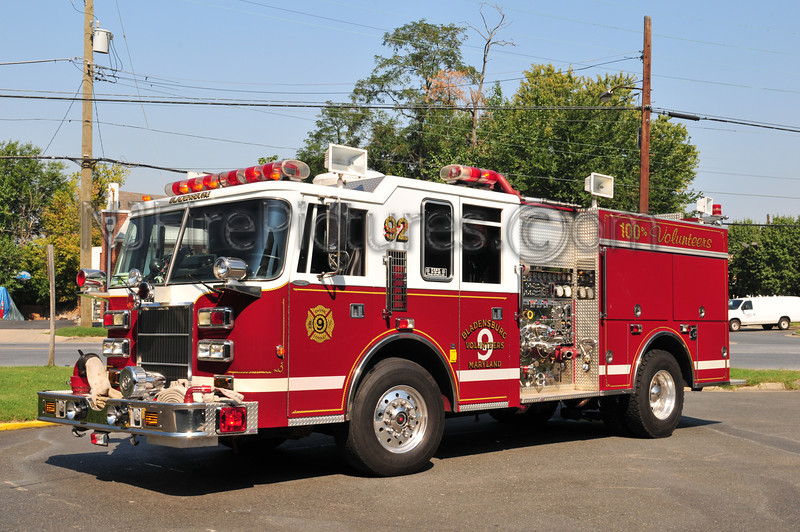 BLADENSBURG, MD ENGINE 92
