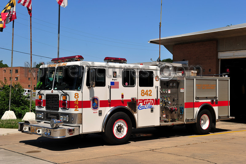OXON HILL, MD ENGINE 842