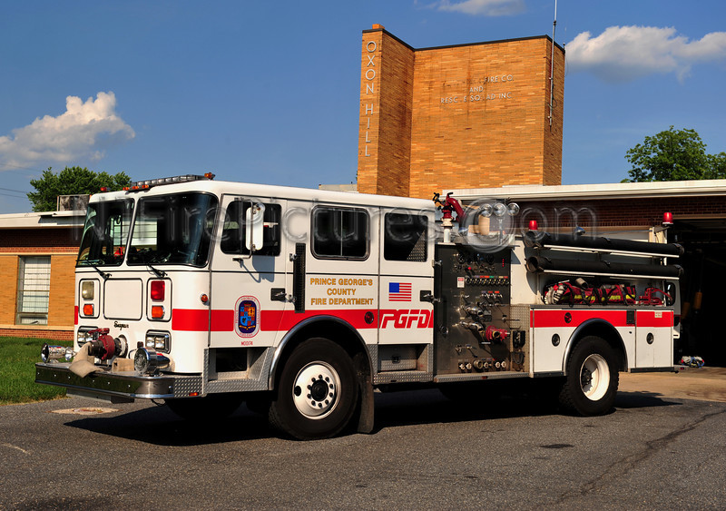 OXON HILL, MD ENGINE 821