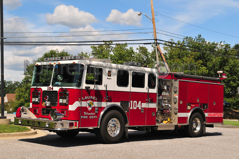LAUREL, MD ENGINE 104