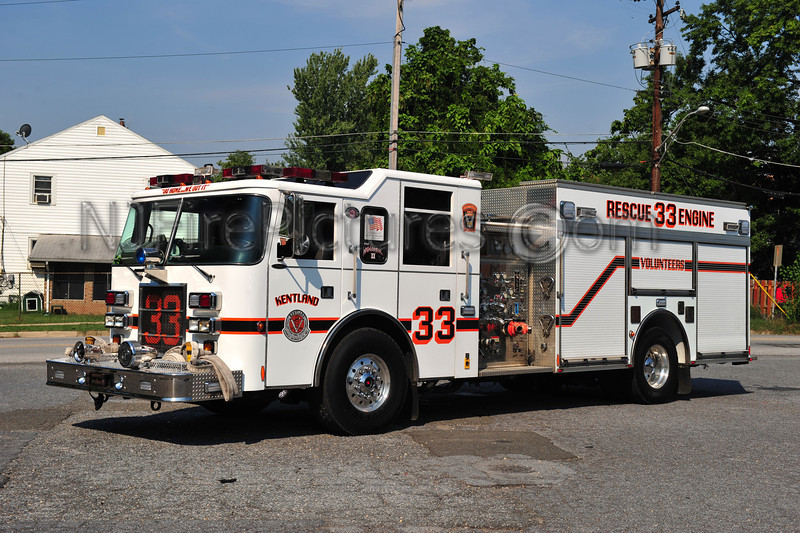 KENTLAND, MD RESCUE-ENGINE 33