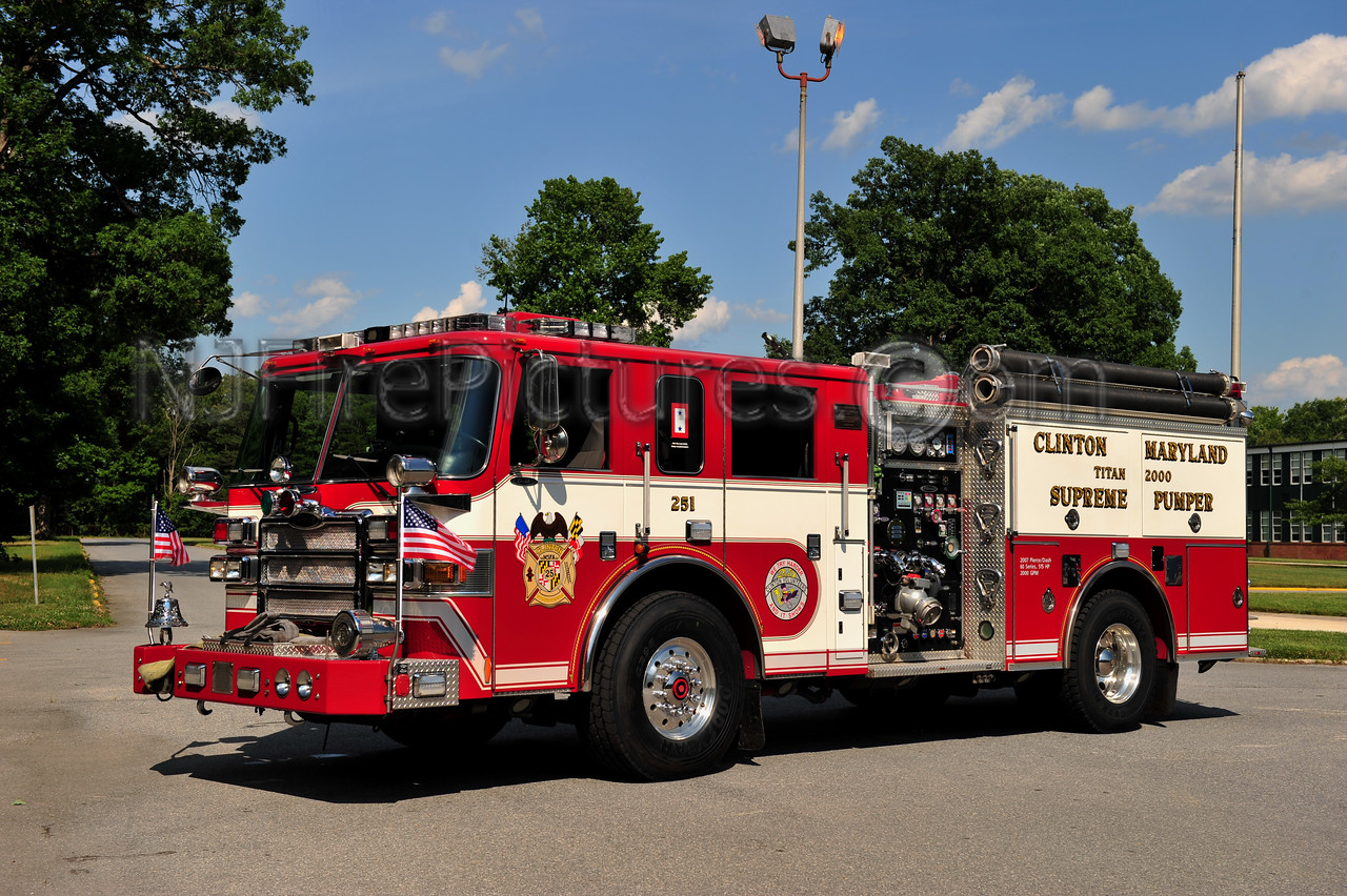 CLINTON, MD ENGINE 825