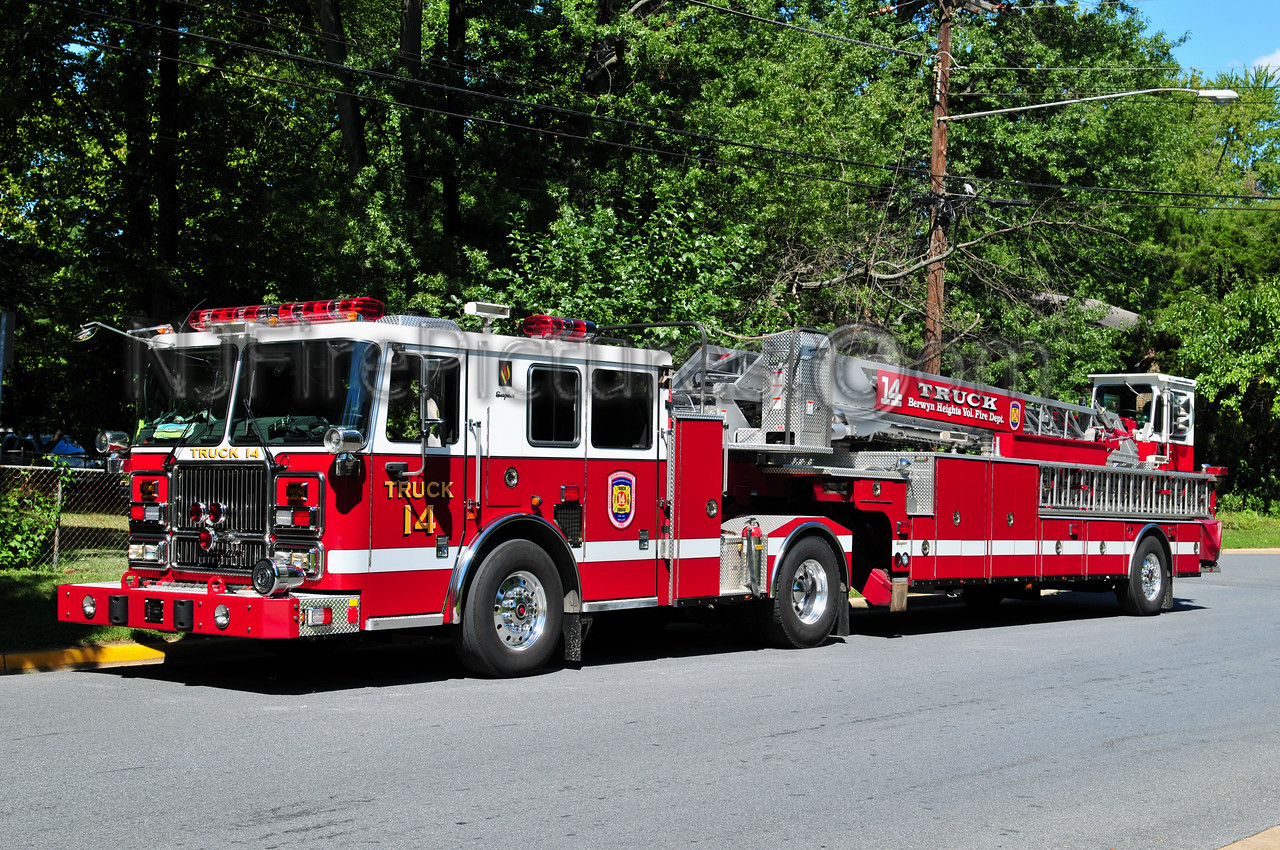 BERWYN HEIGHTS, MD TRUCK 14