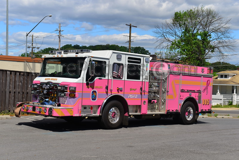 CAPITOL HEIGHTS, MD ENGINE 805