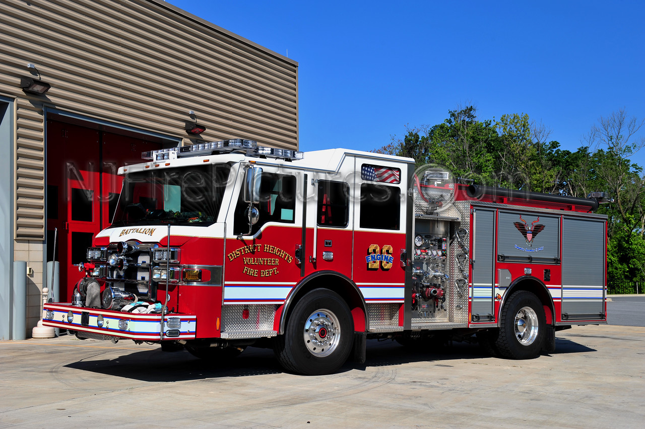 DISTRICT HEIGHTS, MD ENGINE 261