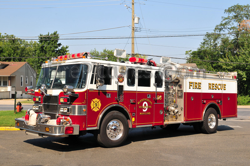 BLADENSBURG, MD ENGINE 93
