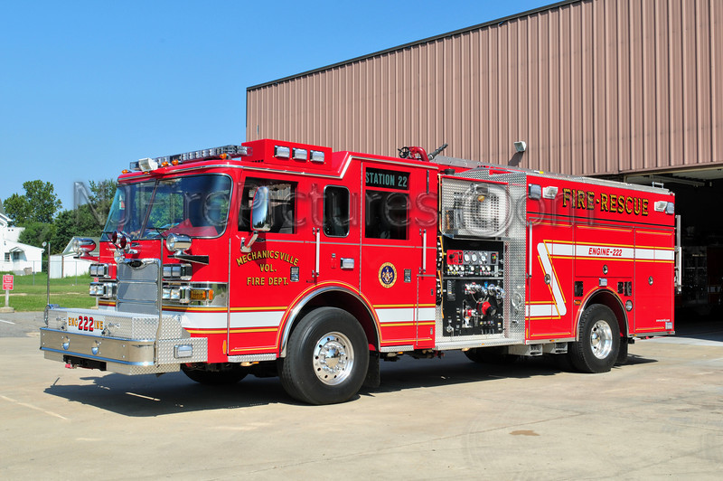 MECHANICSVILLE, MD ENGINE 222
