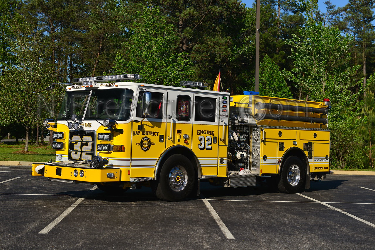 LEXINGTON PARK, MD ENGINE 32 BAY DISTRICT