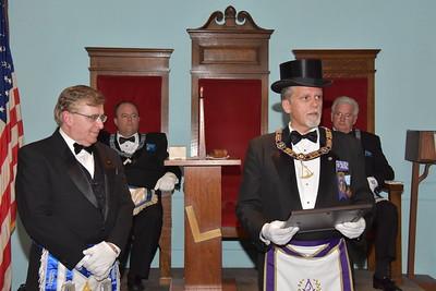 DDGM John Kelley Official Visit to Friendship Lodge 10.19.16