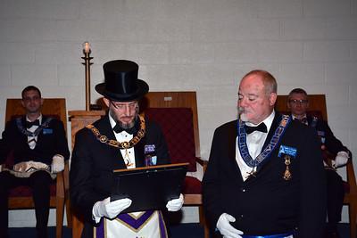 DDGM Kevin Willis' Official Visit to Golden Rule Lodge
