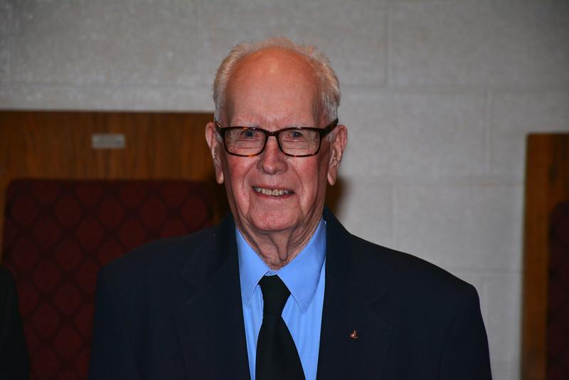 Brother Donald J. Dennehey, Golden Rule Lodge, Joseph Warren Recipient. 9/10/15